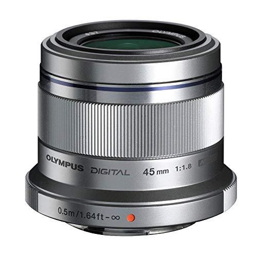 Olympus M.ZUIKO Digital ED 45mm F1.8 Objektiv, silber