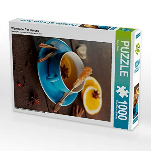 CALVENDO Puzzle Wärmender Tee Genuss 1000 Teile Lege-Größe 48 x 64 cm Foto-Puzzle Bild von Tanja Riedel