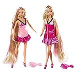 Simba - 105734130 - Poupée Enfant - Steffi Love - Ultra Hair - + Accessoires Beauté - 29 cm