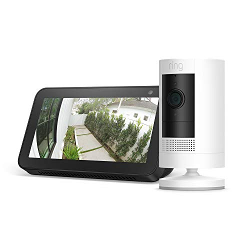Ring Stick Up Cam Battery with Echo Show 5 Now $124.99 (Was $189.98)