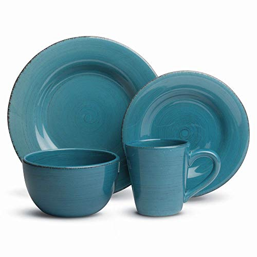 TAG Sonoma Dinnerware Collection Turquoise Blue Dinnerware Blue