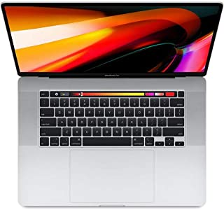 Apple MacBook Pro (de 16 polegadas, Touch Bar, Processador Intel Core i7 6-Core a 2,6 GHz, 16 GB RAM, 512 GB) - Prateado