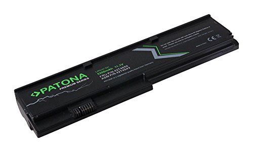 PATONA Batterie Premium (5200mAh) pour Ordinateur Portable Compatible avec Lenovo Thinkpad X200 | X200s | X200si | X201 | X201i | X201s