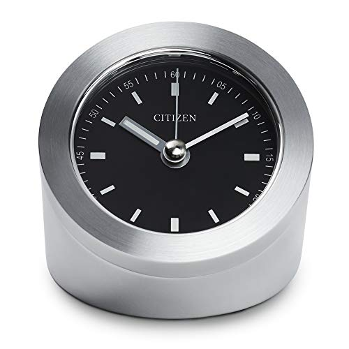 CITIZEN CC1006 - Reloj de Pared, Color Plateado
