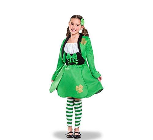 Yuppiyei Disfraz de Irlandesa de San Patricio para niña