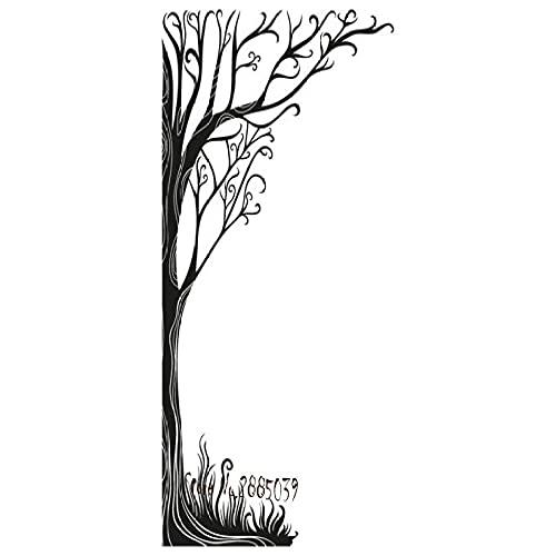 Árbol De Cuerno De Cáñamo Venta De Pegatinas De Pared Decoración Del Hogar Sala De Estar Vinilo Autoadhesivo Calcomanías De Pared Idioma Dormitorio Arte 56X89 Cm