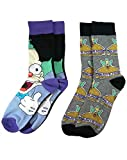 The Simpsons Krusty The Clown 2 Pack Mens Socks