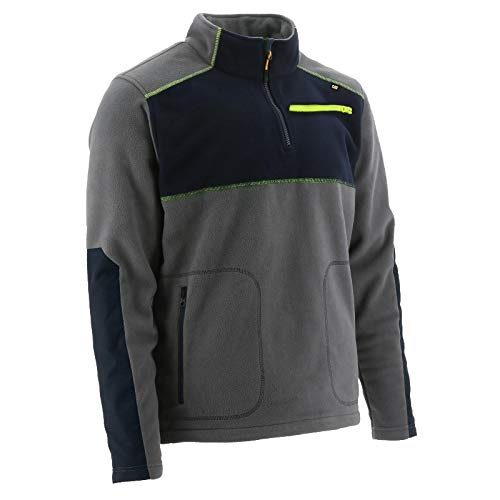 Caterpillar CAT werkkleding heren Argo Quarter Zip polyester fleece jas