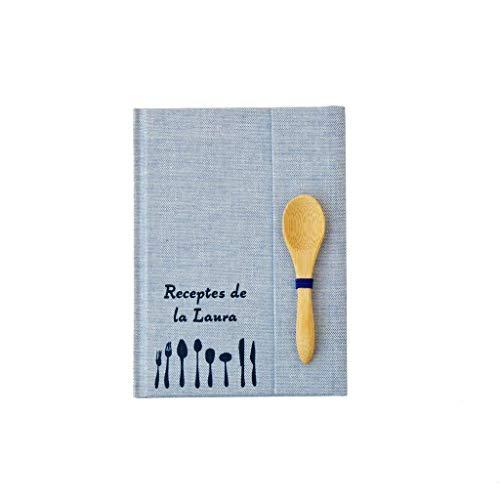 Mini Recetario personalizado con tu nombre 10x15 | PEQUEÑO cuaderno...