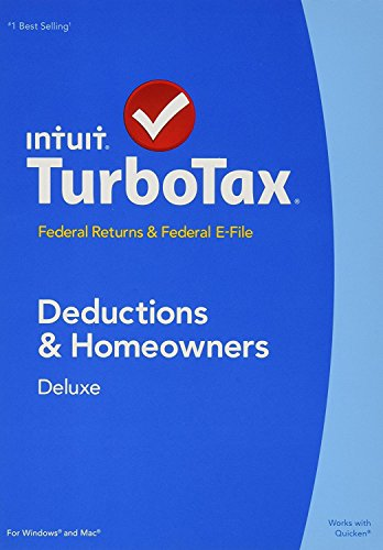 TurboTax Deluxe 2014 - Federal Returns & Federal E-File (State NOT Included) PC & Mac - 424530