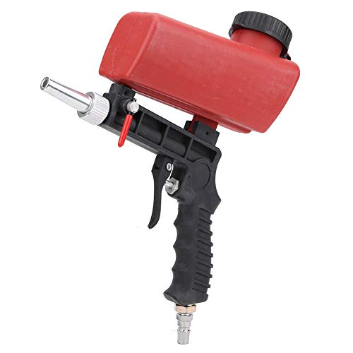 Oumefar Pistola per sabbiatura pneumatica Pistola per sabbiatura 90PSI Sabbiatrice pneumatica per