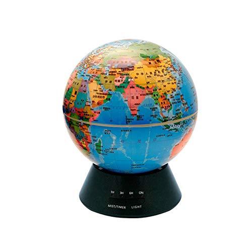 Muxue Globe Luftreiniger Luftbefeuchter Ultraschall Silent Aromatherapie Maschine Bunte Nachtlichter Luftbefeuchter Schlafzimmer Silent Luftreiniger, A