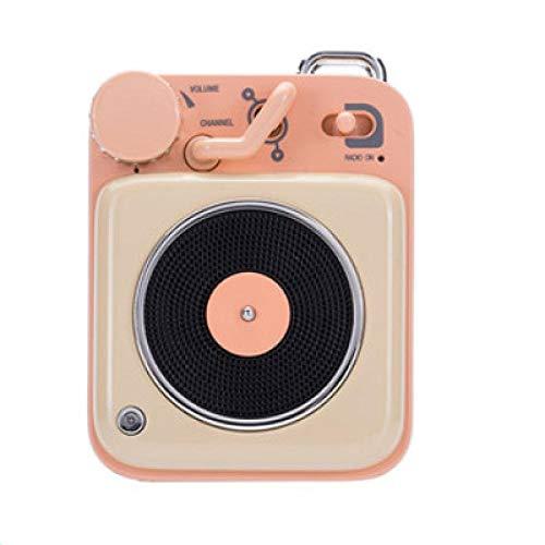 Atomic platenspeler Bluetooth Intelligent Audio Aluminium Mini draagbare luidspreker geschikt voor gezinnen of reizen, 2