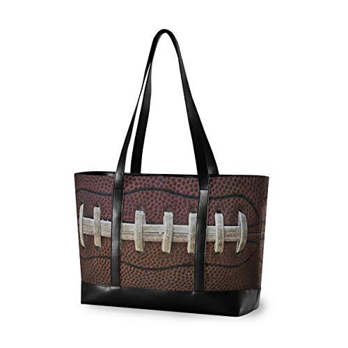 Casual Fashion Großraum Lebensmittel Computer Handtasche American Football Einkaufstasche