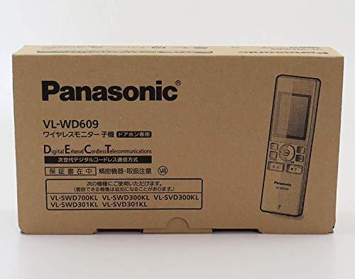 Panasonic 増設用ワイヤレスモニター子機 VL-WD609
