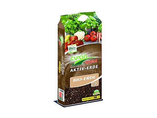Cuxin Erdbeerprofi - Bio- Aktiv Substrat (20 Liter) - Aktiv Erde für Erdbeeren - Bio Erde