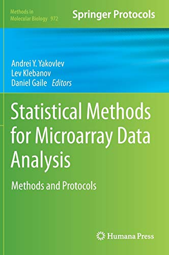 Statistical Methods for Microarray Data Analysis: Methods and Protocols (Methods in Molecular Biology (972), Band 972)