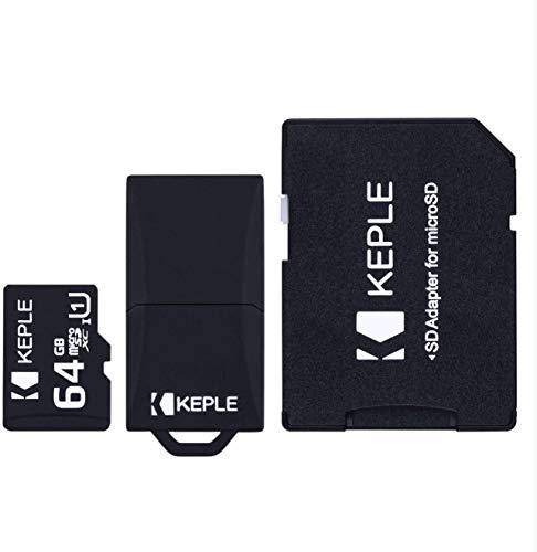 64GB microSD Tarjeta de Memoria | Compatible con Xiaomi Redmi Y3, 7A,7, 8A, 6A,6, 6 Pro, S2, Y2, Go; Note 8 Pro, 8, 7 Pro, 7, 7S, 5 Pro; Mi 9 Lite, A3, CC9, CC9e, Play, 8 Lite, A2 Lite, MAX 3; F1