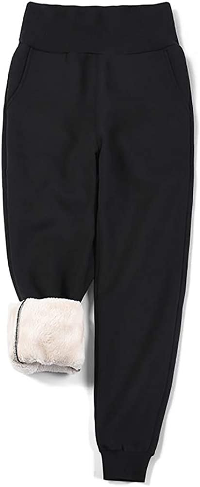 Jade Hare Women's Warm discount Thicken Sherpa favorite Active Pants Lined Jogger