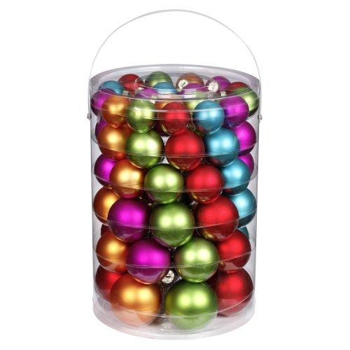 Inge-glas 1558E460 - Juego de Bolas de Navidad, 60 Unidades, 4/5/6/7 cm