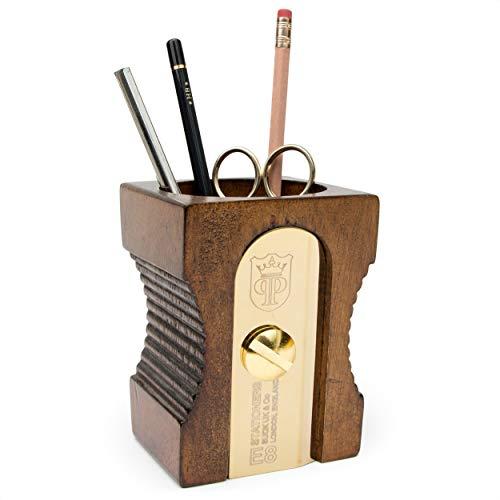 Suck UK Pencil Sharpener Desk Tidy and Stationary Holder / Bleistiftanspitzer Schreibtisch-Organizer und Stifthalter - Perfekt für Kugelschreiber, Bleistifte, Lineale, Textmarker und Scheren – Doppelt