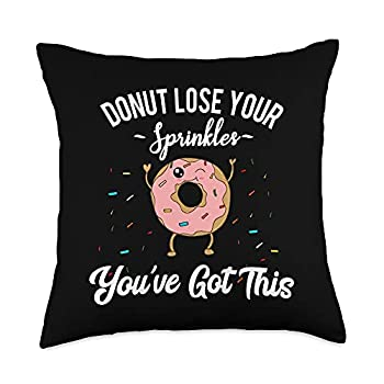 Fight Cancer Meme Motivational Saying You ve Got This Fighting Cancer Inspirational Quote Donut Throw Pillow 18x18 Multicolor