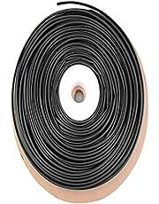 LOKIH Tubo Termorretráctil Los Tubos Tienen Las Ventajas De Un Buen Aislamiento,Negro,6mmx100m
