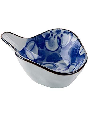Juego de cubiertos, cesta para freír, platos para mantequilla, plato pequeño de color con vidriado, vajilla, plato para vinagre, plato para salsa de soja, plato para condimentar de cerámica, plato pa