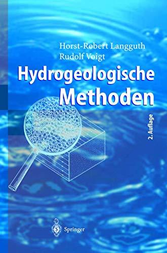 Hydrogeologische Methoden (German Edition)