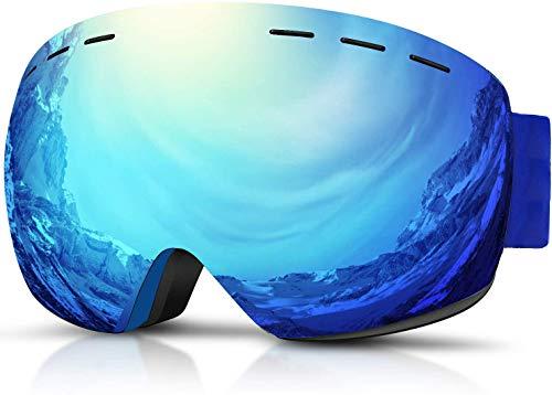 Hidewalker Gafas de Esquí Máscara Esqui Snowboard Nieve Espejo Anti Niebla Protección...