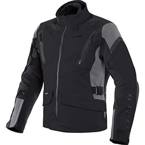Dainese Motorradjacke mit Protektoren Motorrad Jacke Tonale D-Dry Textiljacke schwarz/Ebony/schwarz 52 (L), Herren, Tourer, Ganzjährig