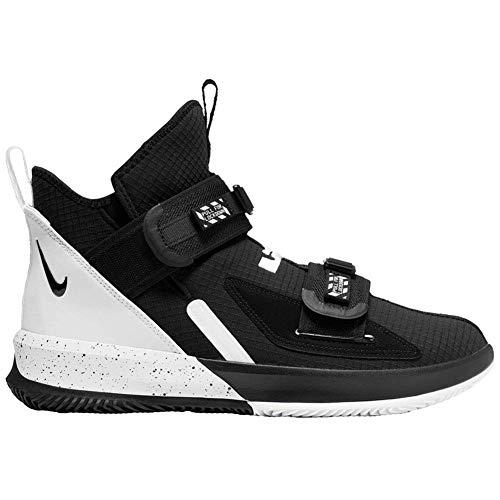Nike New Lebron James Soldier XIII SFG TB Basketball Shoes Men 8.5 Black/White