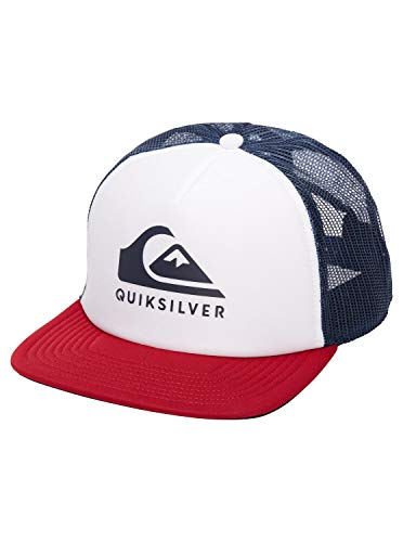Quiksilver Herren FOAMSLAYER VN HAT Baseball Cap, weiß, Einheitsgröße