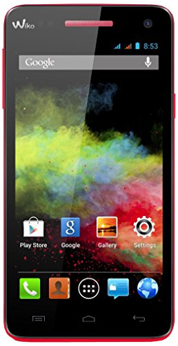 Wiko Rainbow Smartphone (12,7 cm (5 Zoll) HD (1280 x 720 Pixel), DUAL SIM, Quad-Core 1,3GHz Prozessor, IPS HD-Touchscreen, 8MP Kamera, 2MP Frontkamera, 4GB interner Speicher, Android 4.2 ) koralle