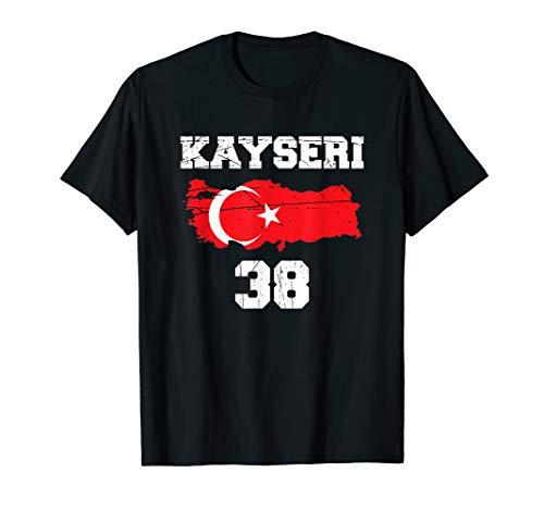 Kayseri 38 Heimat Türkei Türkiye Geschenk T-Shirt