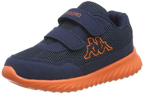 Kappa Unisex-Kinder Cracker II BC Kids Sneaker, 6744 Navy/orange, 30 EU