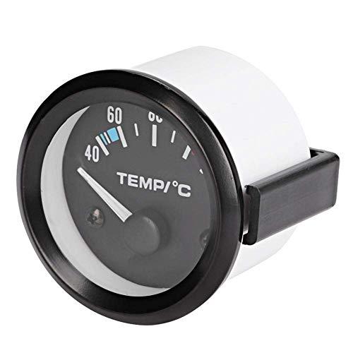 Universal Car Truck Wassertemperaturanzeige, 2 Zoll 52 mm Digital Wassertemperaturanzeige Instrumentenwerkzeug