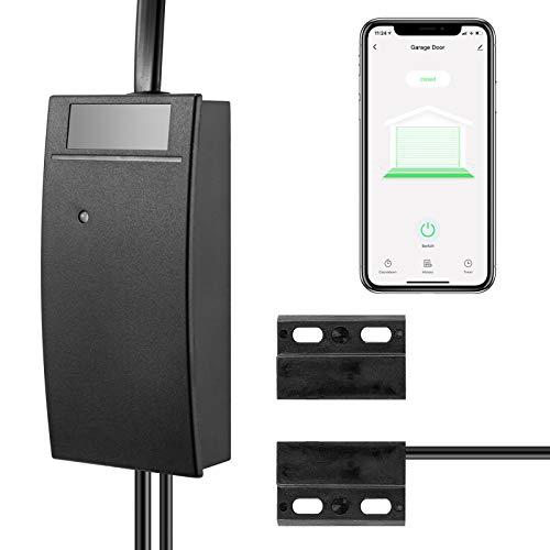 KOPOU Tuya - Abrepuertas de garaje remoto estándar británico, control remoto WiFi Conrtrol, control remoto, funciona con Alexa, Google Home, no necesita hub