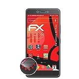 atFolix Schutzfolie kompatibel mit Lenovo K6 Note Folie, entspiegelnde & Flexible FX Bildschirmschutzfolie (3X)