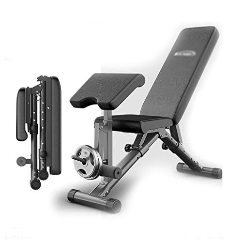 For Sale! Home Gyms Dumbbell Bench Foldable Fitness Chair Multi-Functional Sit-up Board Bench Press ...