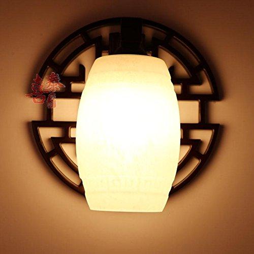 Modernes Wandleuchten Vintage LoftWandlampen Design Wandbeleuchtung Wandleuchte im chinesischen Stil Massivholz Wohnzimmer Schrankbett Retro Restaurant Balkon Gang Wandleuchte,513330 * 32CM