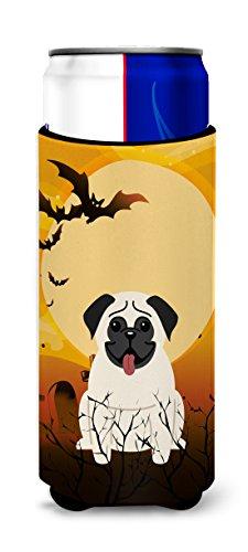 Caroline tesoros del bb4270muk Halloween crema, diseo de CARLINO Michelob Ultra Hugger para Slim latas, multicolor