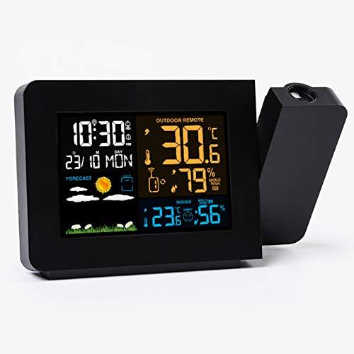 Z-SEAT Reloj De Alarma De Proyección Digital para Dormitori