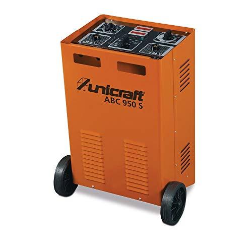 Stürmer Maschinen GmbH UNICRAFT ABC 950 S Automatisches Batterieladegerät Batteriestartgerät für Wet-, Gel- und AGM-Batterien