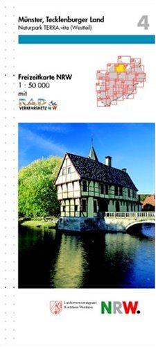 Freizeitkarte Nordrhein-Westfalen, Bl.4, Münster, Tecklenburger Land
