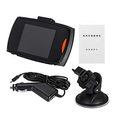 WOIA 2.7 Pulgadas 1080P 170degree Cámara Coche Vehículo DVR Video Dash CAM Recorder, Negro