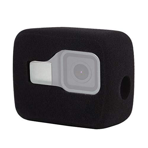 no brand pour GoPro caméra de Sport Housse de Protection Cas de Pare-Brise LCE Mousse de logement for GoPro HERO8 Noir (Noir) (Couleur : Noir)