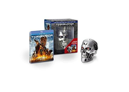 【Amazon.co.jp限定】ターミネーター:新起動/ジェニシス ブルーレイ+DVD エンドスカル付きBOX(2枚組)(キャラクターカードセット付) [Blu-ray]
