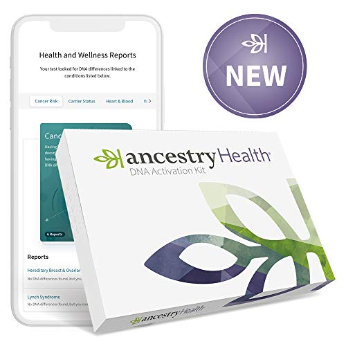 AncestryHealth Core: Health + Genetic Ethnicity Test (Not Available in NY, NJ, RI, or Guam)