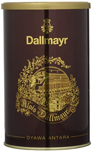 Dallmayr Kaffeedose Dyawa Antara, rot, für 250g Filterkaffee, Schmuckdose 1er Pack (1 x 0,25 kg)